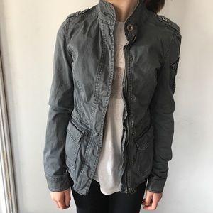 EUC Aeropostale military jacket, XS